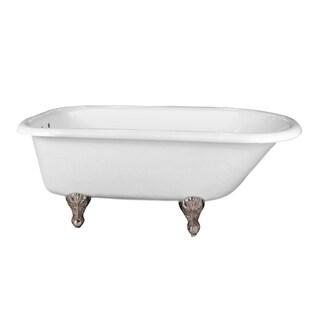 "Cahaba Classics 60"" Traditional Roll Top Acrylic Tub"