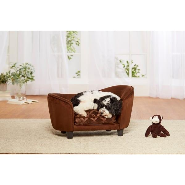 Strange Shop Ultra Plush Snuggle Sofa Brown Free Shipping Today Creativecarmelina Interior Chair Design Creativecarmelinacom