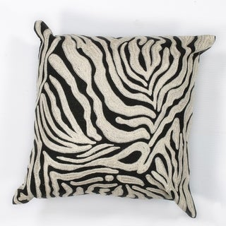 "Zebra Oasis 18"" x 18"" Pillow"