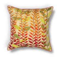 "Autumn Leaves 18"" x 18"" Pillow"