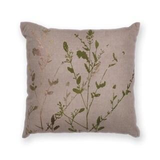 """Natural Branch 18"""" x 18"""" Pillow"""