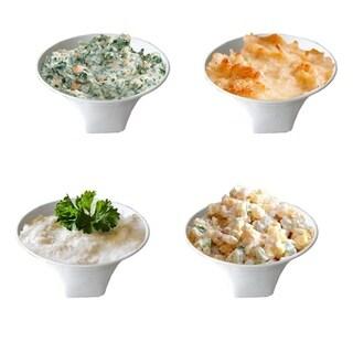 """Sandra Venditti 4.5"""" Porcelain Appetizer Set"""