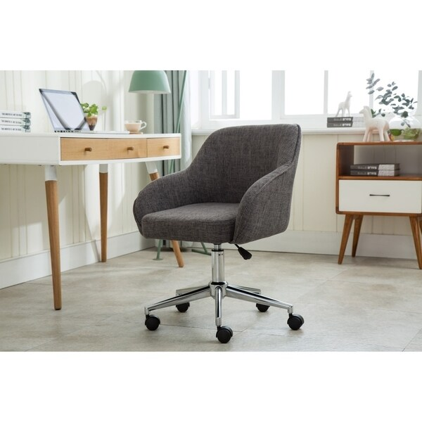 Shop Porthos Home Upholstered Office Chair With Switch