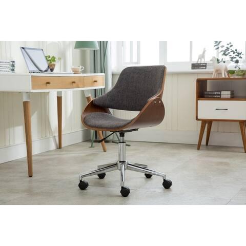 Porthos Home Adjustable Height Modern Office Desk Chair, Caster Wheels