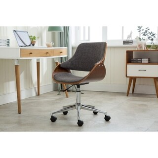 Porthos Home Adjustable Height Modern Office Desk Chair, Caster Wheels