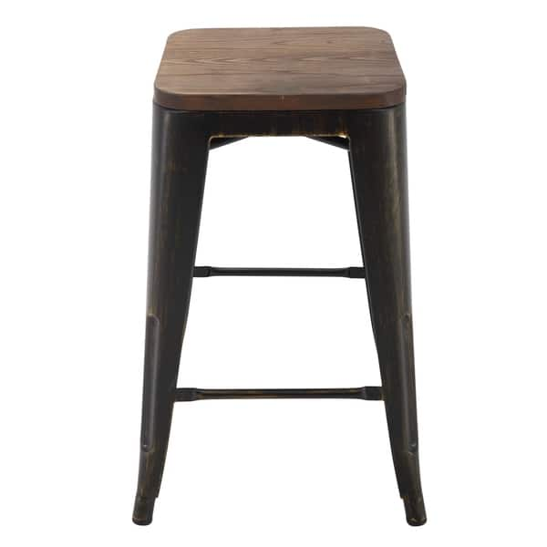 Incredible Shop Porthos Home Counter Height 24 Inch Metal Cafe Stool Forskolin Free Trial Chair Design Images Forskolin Free Trialorg
