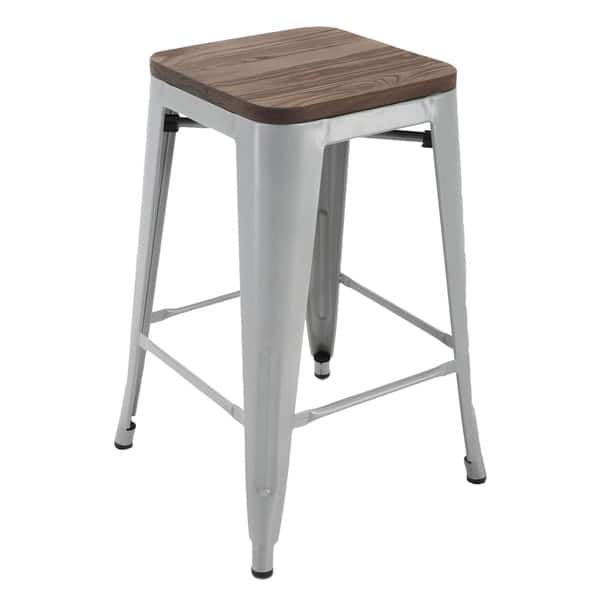 Groovy Shop Porthos Home Counter Height 24 Inch Metal Cafe Stool Forskolin Free Trial Chair Design Images Forskolin Free Trialorg