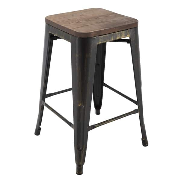 Awe Inspiring Shop Porthos Home Counter Height 24 Inch Metal Cafe Stool Forskolin Free Trial Chair Design Images Forskolin Free Trialorg