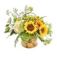 Sunflowers with Lemons - Yellow