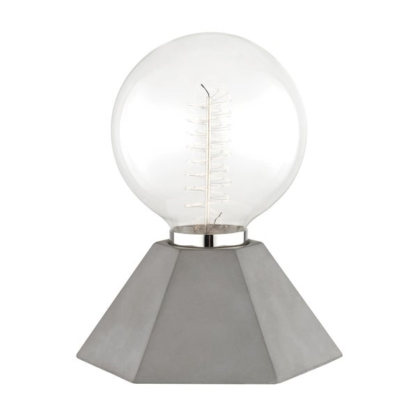 Mitzi by Hudson Valley Lynn 1-light Concrete Table Lamp