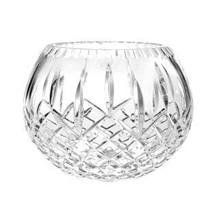 Majestic Gifts European High Quality Hand Cut Crystal Rose Bowl