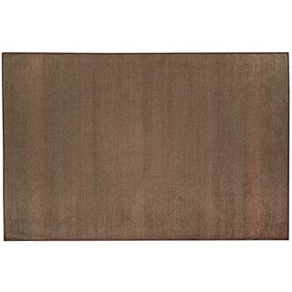 Ruggable Washable Stain Resist Pet Accent Rug Solid Espresso - 3' x 5'