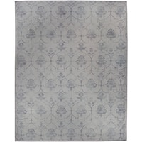 Ruggable Washable Indoor/Outdoor Stain Resistant Pet Area Rug Leyla Grey (8' x 10') - 8' x 10'