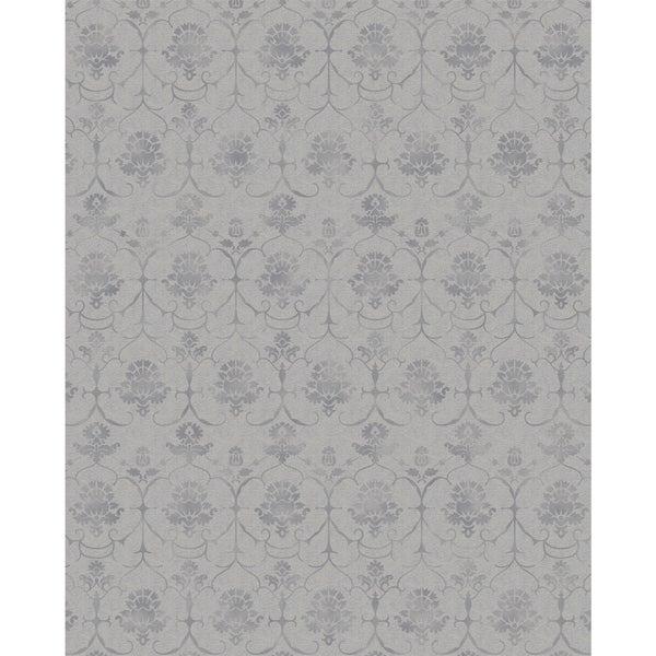 Ruggable Washable Indoor/Outdoor Stain Resistant Pet Area Rug Leyla Grey (8' x 10') - 8' x 10'