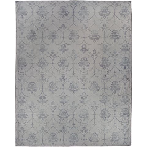 Ruggable Washable Stain Resistant Pet Area Rug Leyla Grey - 8' x 10'