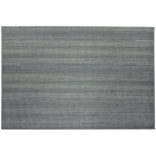 Ruggable Washable Indoor/Outdoor Stain Resistant Pet Runner Rug Solid Grey - 3' x 5'