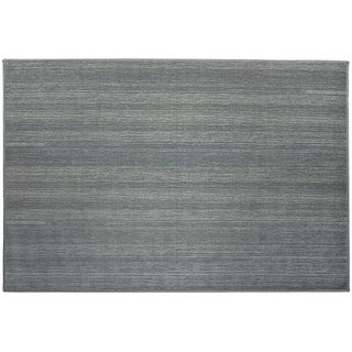 Ruggable Washable Stain Resistant Pet Runner Rug Solid Grey - 3' x 5'