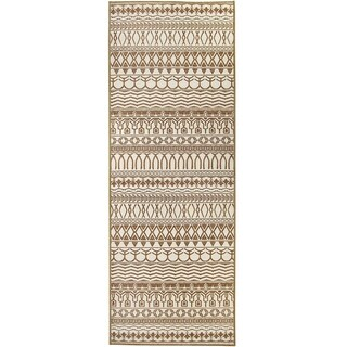 Ruggable Washable Indoor/Outdoor Stain Resistant Runner Rug Cadiz Natural