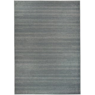 Ruggable Washable Stain Resistant Pet Area Rug Solid Grey - 5' x 7'