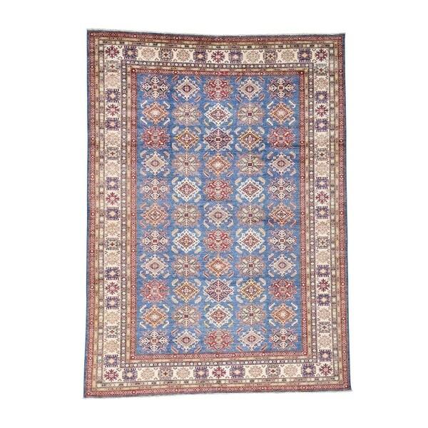 5 X 6 Vintage Kazak Persian Oriental Wool Hand Knotted: Shop Shahbanu Rugs Pure Wool Hand Knotted Super Kazak