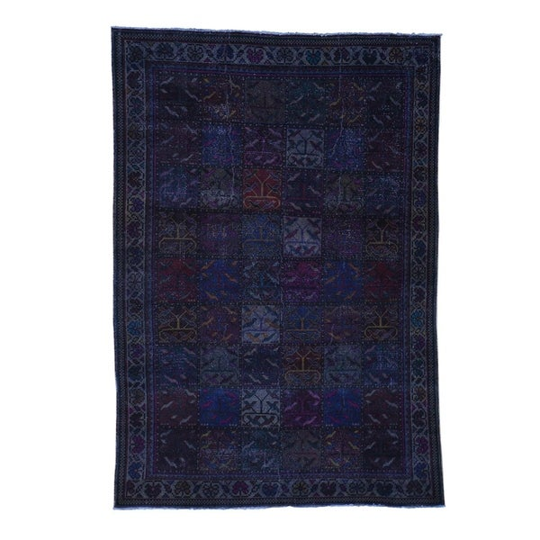 Shop Shahbanu Rugs Hand Knotted Overdyed Persian Bakhtiari