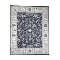 """Shahbanu Rugs Hand-Knotted Turkish Knot Oushak Pure Wool Oriental Rug - 8'1"""" x 10'0"""""""