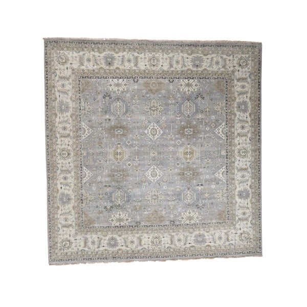 12 10 X 14 11 Persian Karajeh Hand Knotted Wool