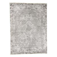 """Shahbanu Rugs Broken Persian Design Wool And Pure Silk Hand-Knotted Oriental Rug - 8'10"""" x 12'0"""""""