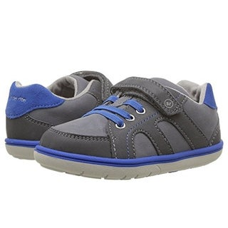 Stride Rite Boys Srtech Noe Sneaker (Toddler) Grey Blue