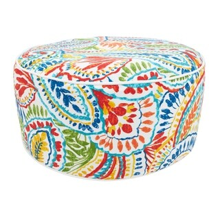 Paisley Inflatable Outdoor Ottoman
