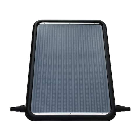 21-in Solar Flat-Panel Heater for Above Ground Swimming Pools with Standard 1.25 - 1.5-in Connectors