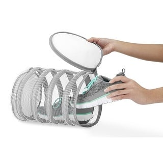 Shoe Mesh Washing Bag - Solution for Washing or Drying Shoes ,Sneakers , and Lingerie, Keeping Laundry Stored or Separated