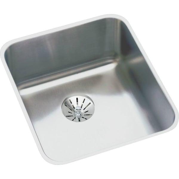 Elkay Gourmet 18 Gauge 16' X 18.5' X 5.375' Single Bowl Undermount on kohler undermount sink kit, sink drain kit, sink undermount installation kit,