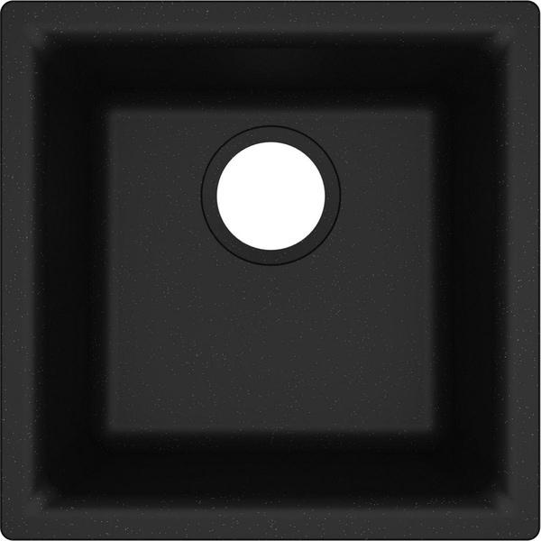 "Elkay Quartz Classic 15-3/4"" x 15-3/4"" x 7-11/16"", Single Bowl Dual Mount Bar Sink.. - 15-3/4 x 15-3/4 x 7-11/16. Opens flyout."