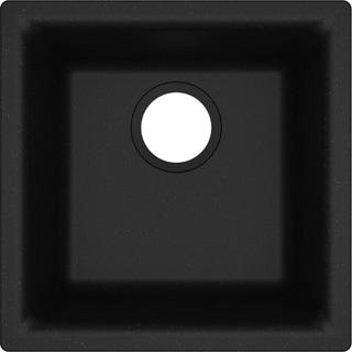 "Elkay Quartz Classic 15-3/4"" x 15-3/4"" x 7-11/16"", Single Bowl Dual Mount Bar Sink - 15-3/4 x 15-3/4 x 7-11/16"