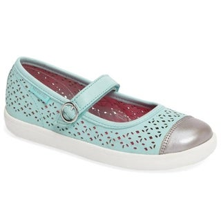 Stride Rite Poppy Mary Jane Shoe (Toddler) Turquoise (More options available)
