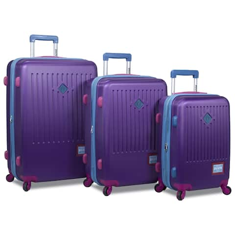 Rolite Mod Hardside 3-Piece Expandable Spinner Luggage Set