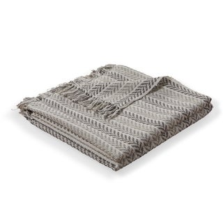 LR Home Flynn Woven Cotton Throw Blanket
