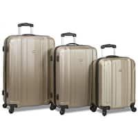 Dejuno Maverick 3-Piece Hardside Spinner Combination Lock Luggage Set