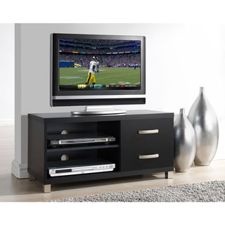 Link to Urban Designs Modern TV Stand with Storage For TV Up To 40 - Black Similar Items in Media Cabinets
