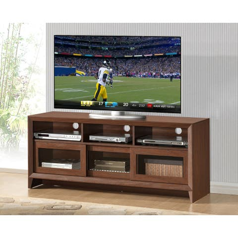 Urban Designs Modern TV Stand with Storage For TVs Up To 60 Inches