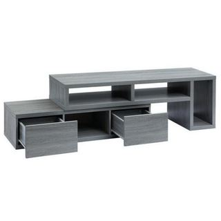 Urban Designs Adjustable TV Stand Console for TV up to 65 - 83 inches