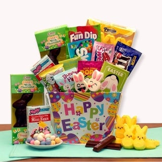 Hoppy Bunny Treats Easter Gift Basket