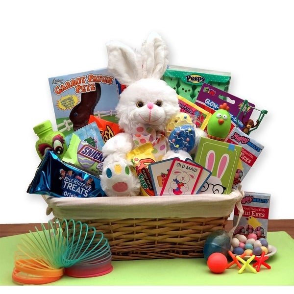 Bunny express easter gift basket free shipping today overstock bunny express easter gift basket negle Images