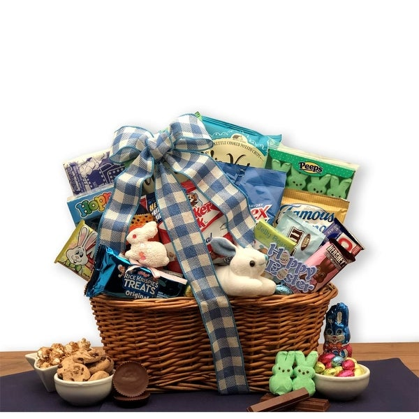 Easter snacks easter gift basket free shipping today overstock easter snacks easter gift basket negle Images