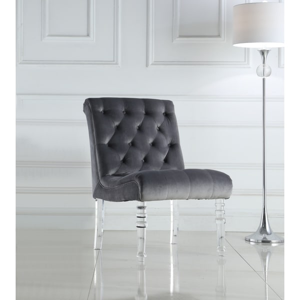 Shop Best Quality Furniture Tufted Velvet Accent Chair