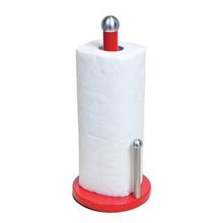 Paper Towel Holder in Red