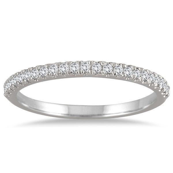 Shop 1 6 Carat Tw Diamond Ring In 14k White Gold On Sale Free