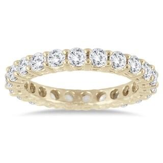 2 Carat TW 14K Yellow Gold Diamond Eternity Band