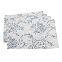Floral & Toile Placemat  (set of 4)